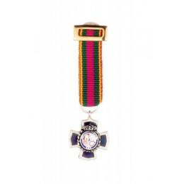 Medalla Miniatura Merito Policial 25 años