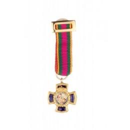 Medalla Miniatura Merito Policial 30 años