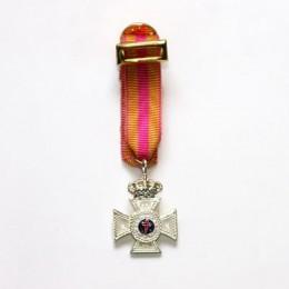 Medalla Miniatura Constancia 25 Años