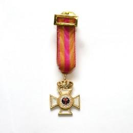 Medalla Miniatura Constancia 35 Años