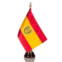 Bandera seda Legión con Peana de madera