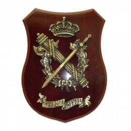 Metopa emblema y corona