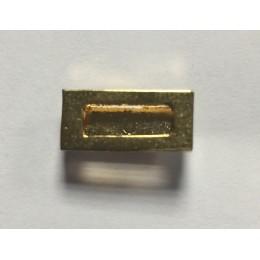 Pasador Alfiler Medalla Miniatura de 1 Huecos