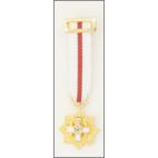 Medalla miniatura Placa Merito Militar Dtvo Blanco