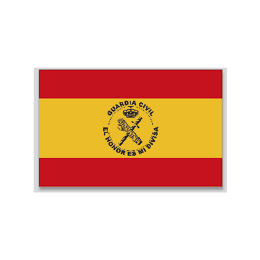 Bandera ESPAÑA G.CIVIL