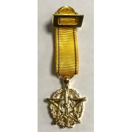 Medalla Miniatura de la Orden RCA Oficial
