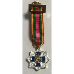 Placa miniatura a la dedicación Policial XXXV