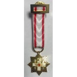Medalla Placa miniatura Merito Naval