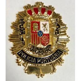 Chapa cartera Policia Portuaria