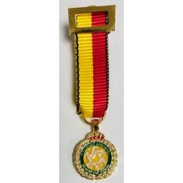 Medalla Mniattura Conmemorativa de la Operación Balmis (Cobre)