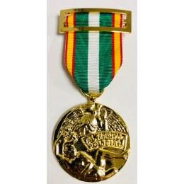 Medalla Orden del Mérito Policial Oro