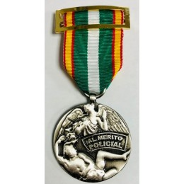 Medalla Orden del Mérito Policial Plata