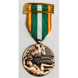 Medalla Orden del Mérito Policial Bronce