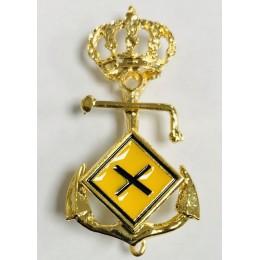 Distintivo de Curso defensa NBQ Naval de Oficiales