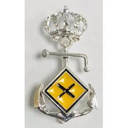 Distintivo de Curso defensa NBQ Naval de Suboficiales
