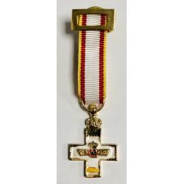 Medalla Miniatura Merito Aeronáutico Amarillo