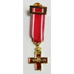 Medalla Miniatura Merito Aeronáutico Rojo