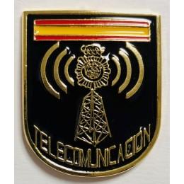 Distintivo del Área Telecomunicación CNP