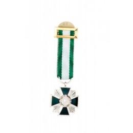 Medalla Miniatura Placa Mérito Guardia Civil Plata