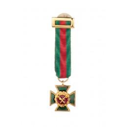 Miniatura Cruz Mérito Guardia Civil distintivo rojo
